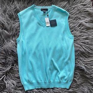 NWT Brooks Brothers Supima Sweater Vest   Medium